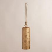 Embossed Metal Cylinder Bell Wind Chime