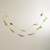 Carrot and Veggie Garlands, Set of 2