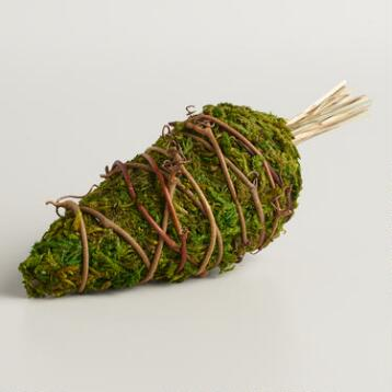 Mossy Carrots, Set of 3