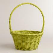 Large Green Willow Ellie Easter Basket