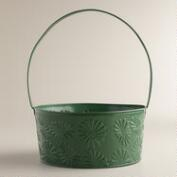 Myrtle Green Easter Basket