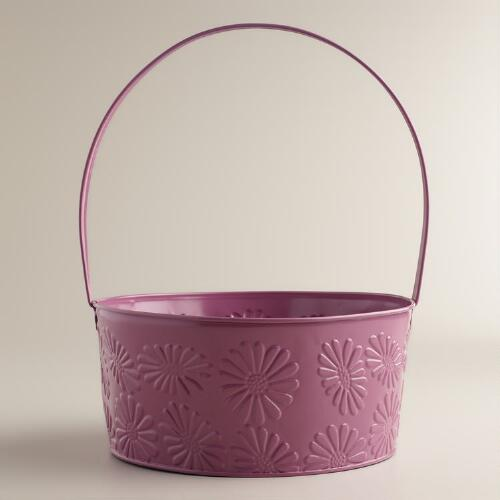 Valerian Purple Easter Basket