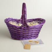 Purple Easter Basket Kit