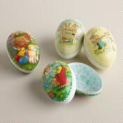 Small German Easter Egg Containers,  Set of 4