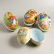 Extra-Large German Easter Egg Containers,  Set of 4