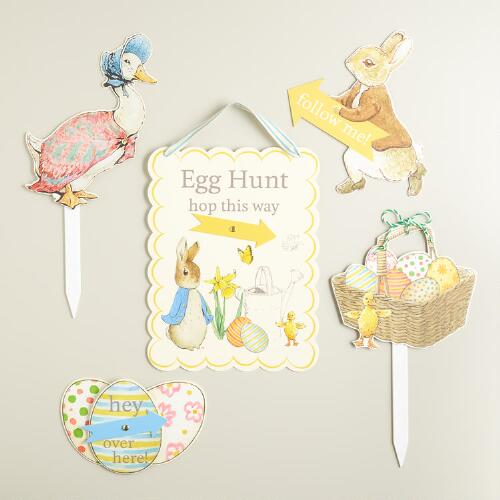 Peter Rabbit Egg Hunt Kit