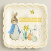 Large Peter Rabbit Paper Plates, 12-Count