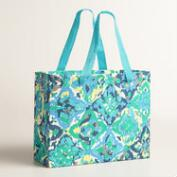 Large Casablanca Tiles Handmade Gift Bag
