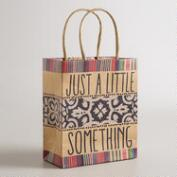 Small Little Something Kraft Gift Bag, Set of 6