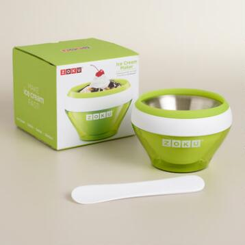 Green Zoku Ice Cream Maker
