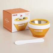 Orange Zoku Ice Cream Maker