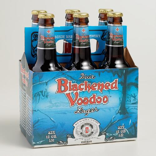 Dixie Blackened Voodoo Lager, 6-Pack