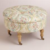 Ogee Lucille Round Ottoman