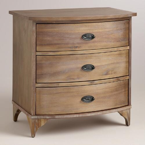 Wood Jantar Nightstand