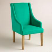 Emerald Green Jayda Dining Chair