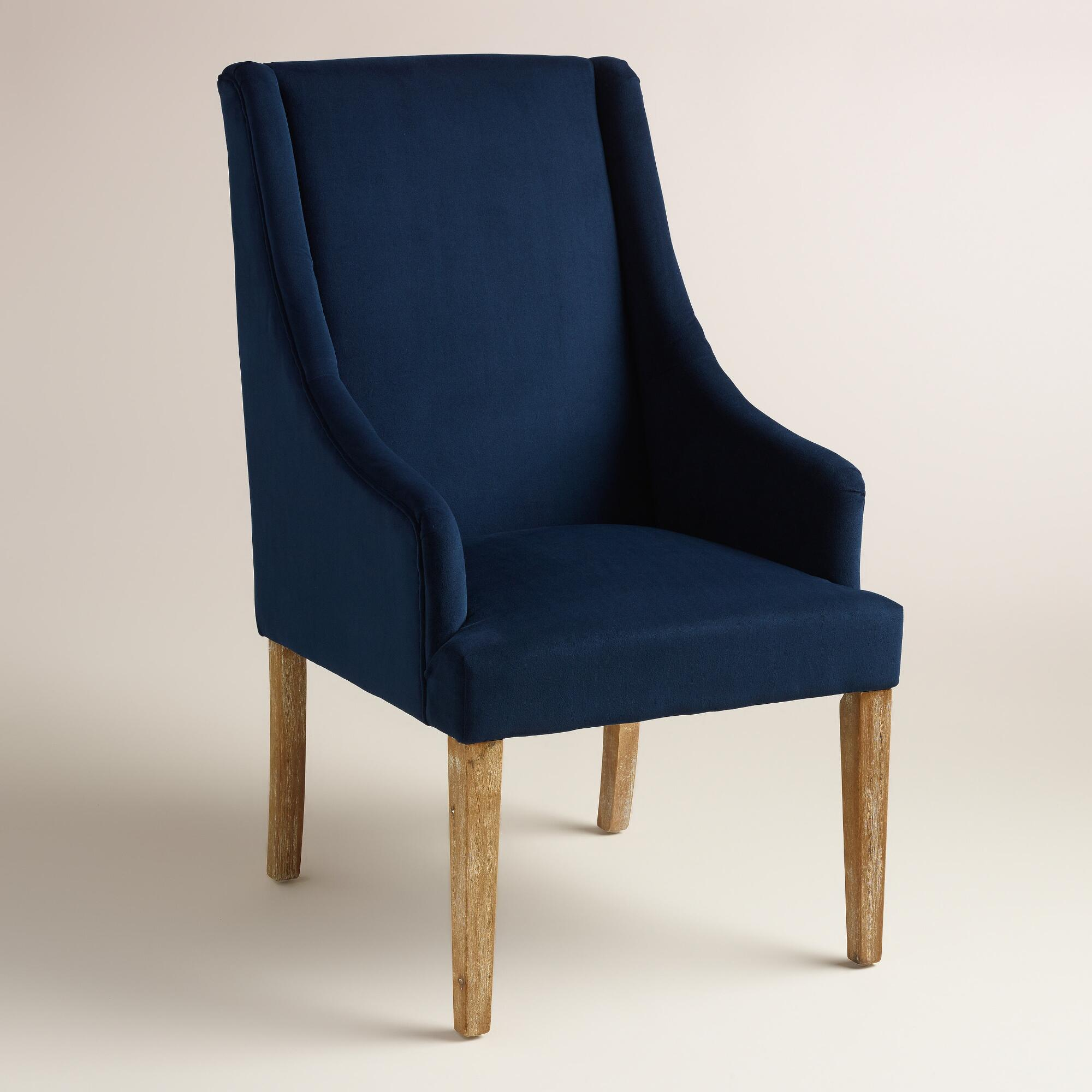Ink Blue Jayda Dining Chair