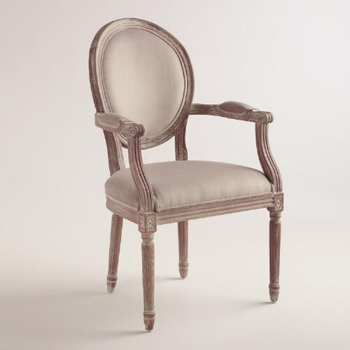Cocoa Paige Round Back Armchair