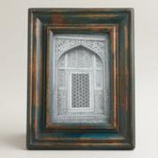 Blue Hand-Painted Gita Frame