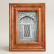 Orange Hand-Painted Gita Frame