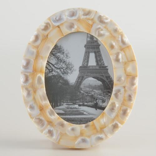 Mother of Pearl Oval Frame