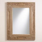 Antiqued Carved Disha Mirror