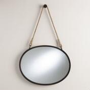 Horizontal Oval Fynn Captain's Mirror
