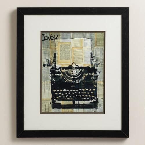 """Typewriter"" by Loui Jover"