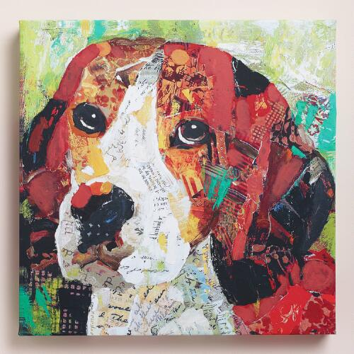 """Beagle"" by Sandy Doonan"