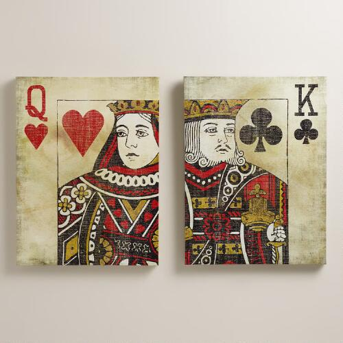 """Playing Cards"" by Erin Powley, Set of 2"