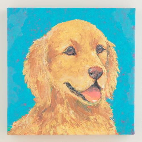 """Golden Retriever II"" by K. Tomlin"