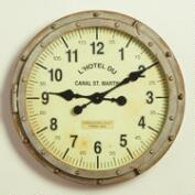 Metal Rivet Bryce Wall Clock