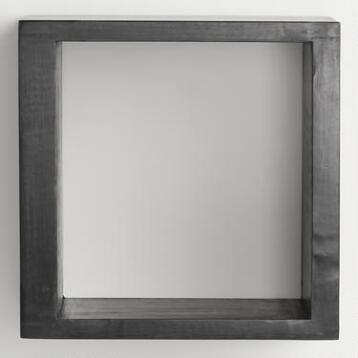 Black Square Caden Wall Storage