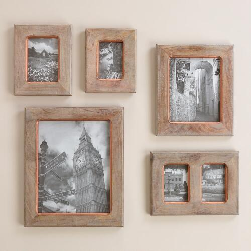 Gray and Copper Tyson Frame