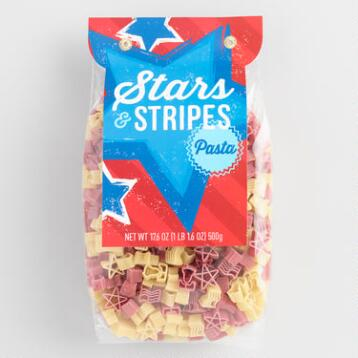 World Market® Stars & Stripes Pasta, Set of 2