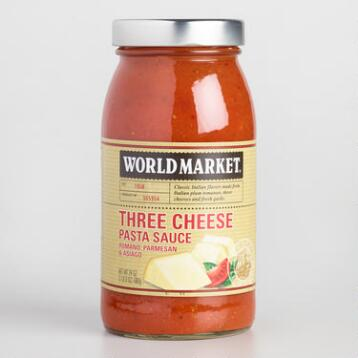 World Market® Three Cheese Pasta Sauce