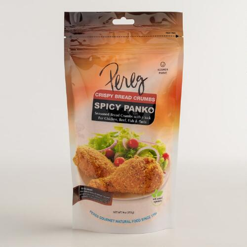 Pereg Spicy Seasoned Panko Breadcrumbs