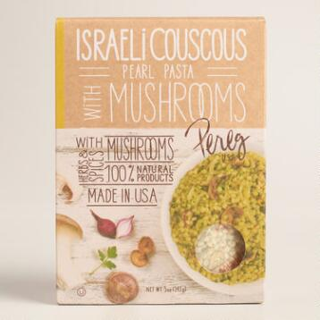 Pereg Israeli Couscous with Mushrooms, Set of 2
