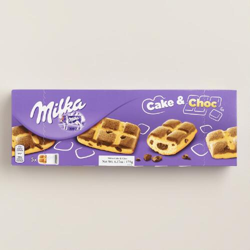 Milka Cake and Chocs Waffles