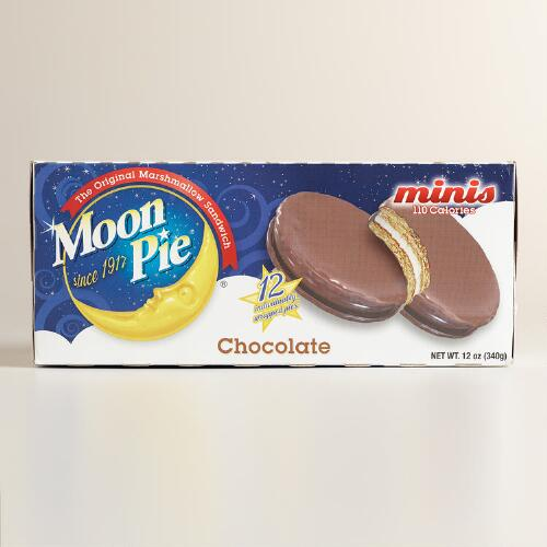 Mini Chocolate Moon Pies, 6-Count