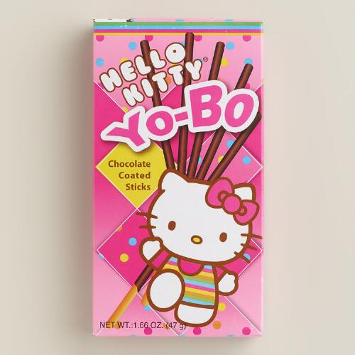 Hello Kitty Chocolate-Coated Yo-Bo Sticks