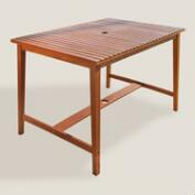 Wood Cori Outdoor Bar Table