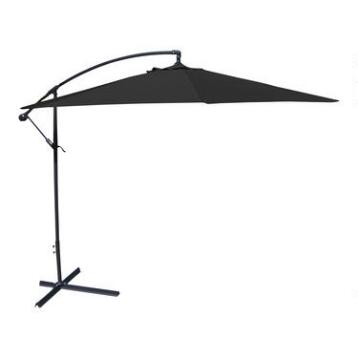 Black 10' Cantilever Umbrella