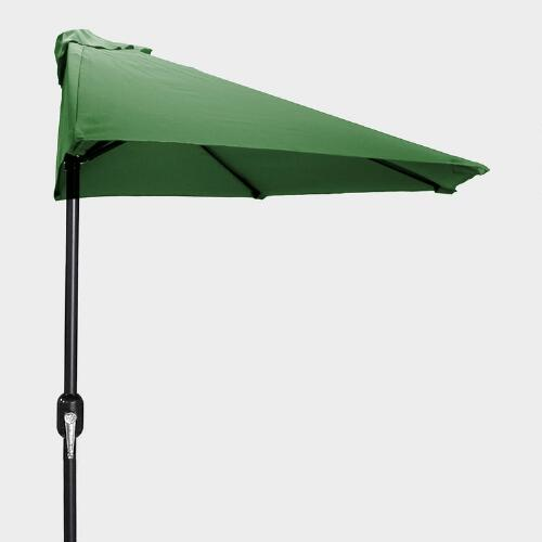 Green Half Umbrella