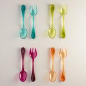 Acrylic Salad  Servers, Set of 2