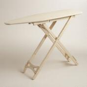Wood Ironing Board with Cotton Cover