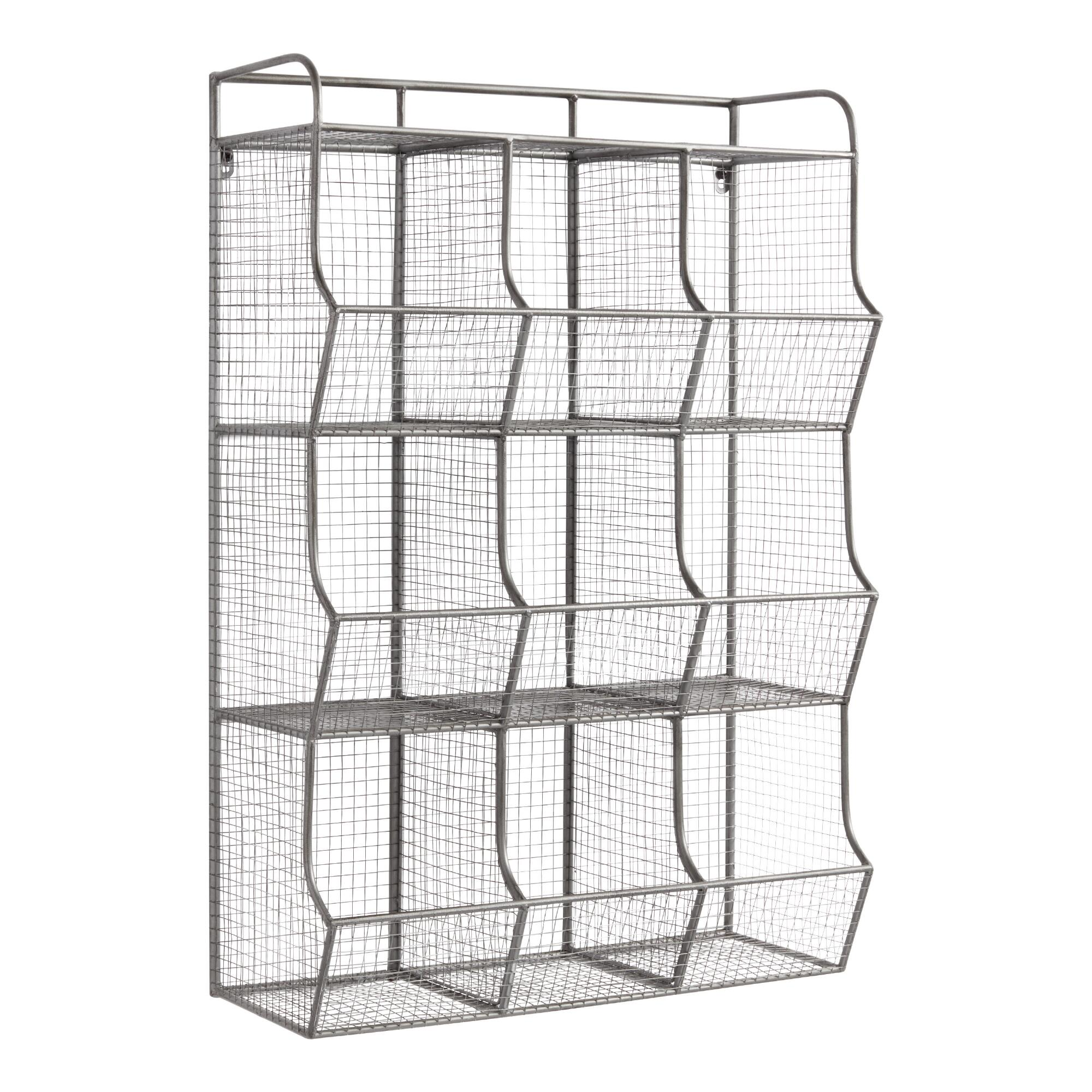 Metal 9 Cubby Thomas Wall Storage World Market