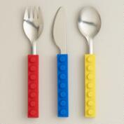 3-Piece Snack and Stack Utensils, Set of 2