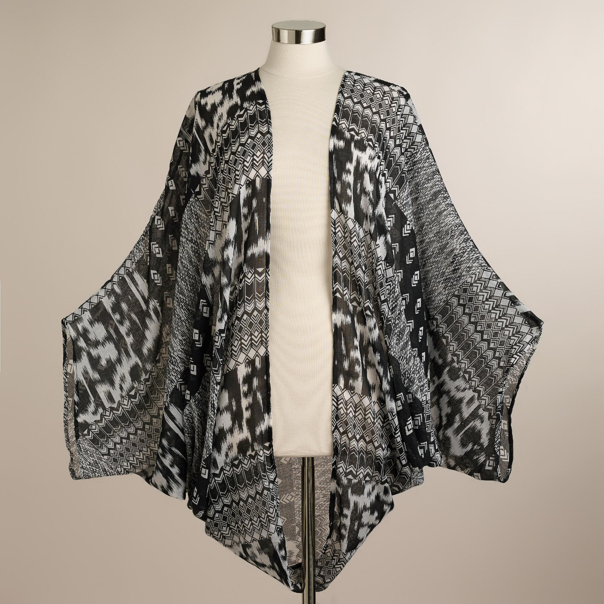 More Details Johnny Was Rose Reversible Snap-Front Silk Twill Kimono Jacket, Plus Size Details EXCLUSIVELY AT NEIMAN MARCUS Johnny Was reversible kimono in printed silk twill with embroidered trim. V neckline; snap front with two-interior buttons. 3/4 kimono sleeves.