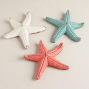 Ceramic Starfish,  Set of 3