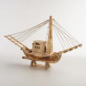 Wood Fishing Boat